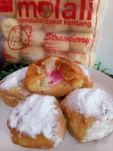 Molali Donat Kentang Frozen di Malang