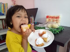 Donat Kentang Frozen di Malang, ya Molali Donat