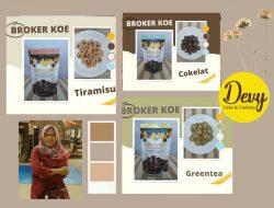 Peluang Usaha dari Broker Koe, Brownies Kering Mini Persembahan Devy Cake and Cookies